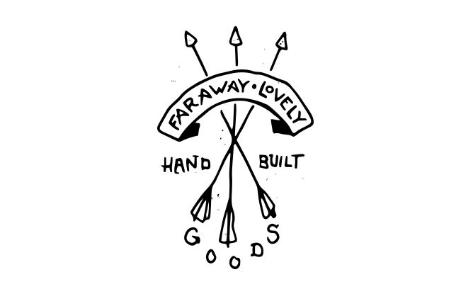 Hand drawn arrow logo