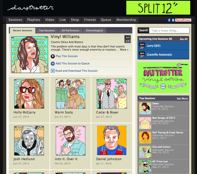 Spokane music on Daytrotter.com