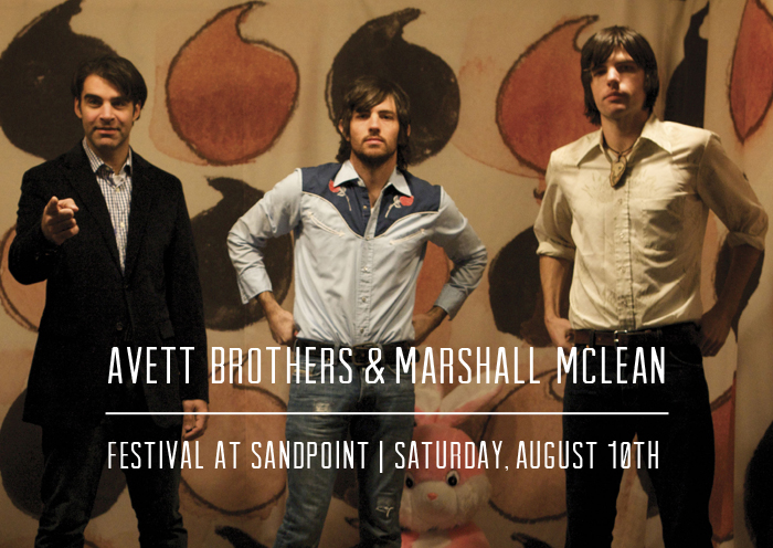 Avett Brothers at Festival at Sandpoint