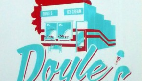 Doyle's Ice Cream Spokane print by Derrick King