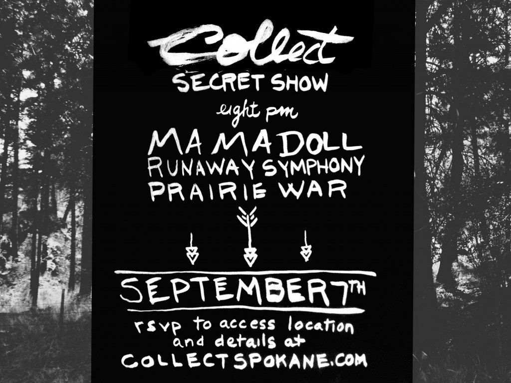 Collect Secret Show - 09072013